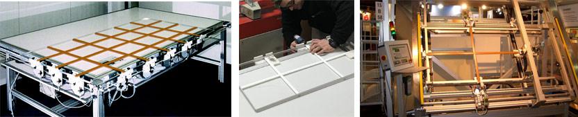 تولید شیشه جورجین بار دکوراتیو